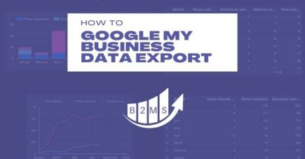 Automated Google My Business Data Export